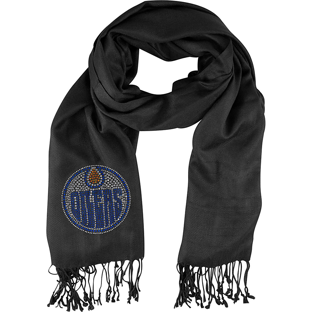 Littlearth Pashi Fan Scarf - NHL Teams Edmonton Oilers - Littlearth Hats/Gloves/Scarves - Fashion Accessories, Hats/Gloves/Scarves