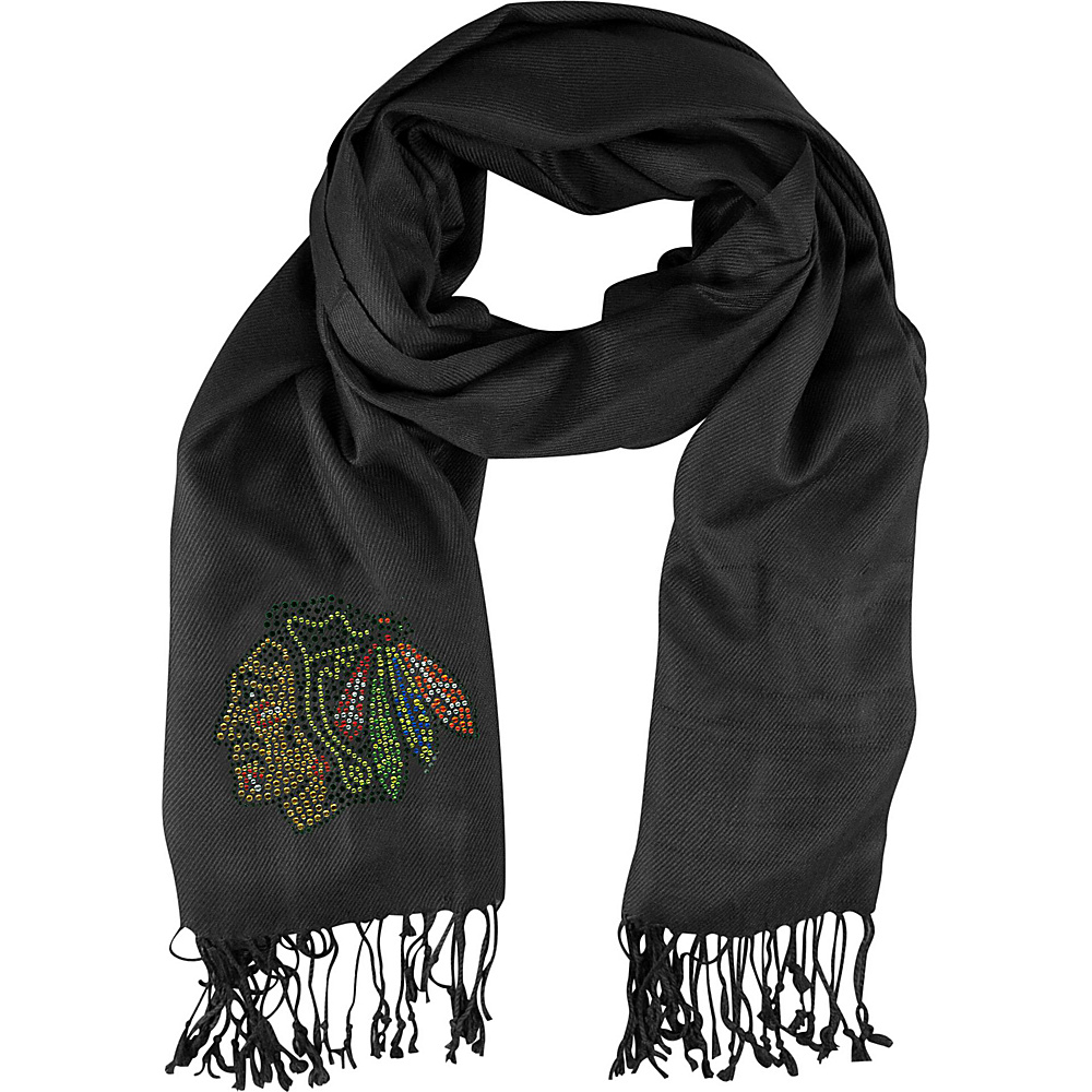 Littlearth Pashi Fan Scarf - NHL Teams Chicago Blackhawks - Littlearth Hats/Gloves/Scarves - Fashion Accessories, Hats/Gloves/Scarves