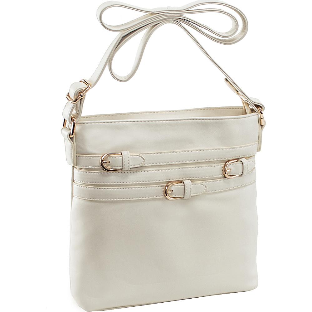 Parinda Clarice II Crossbody Sand - Parinda Manmade Handbags