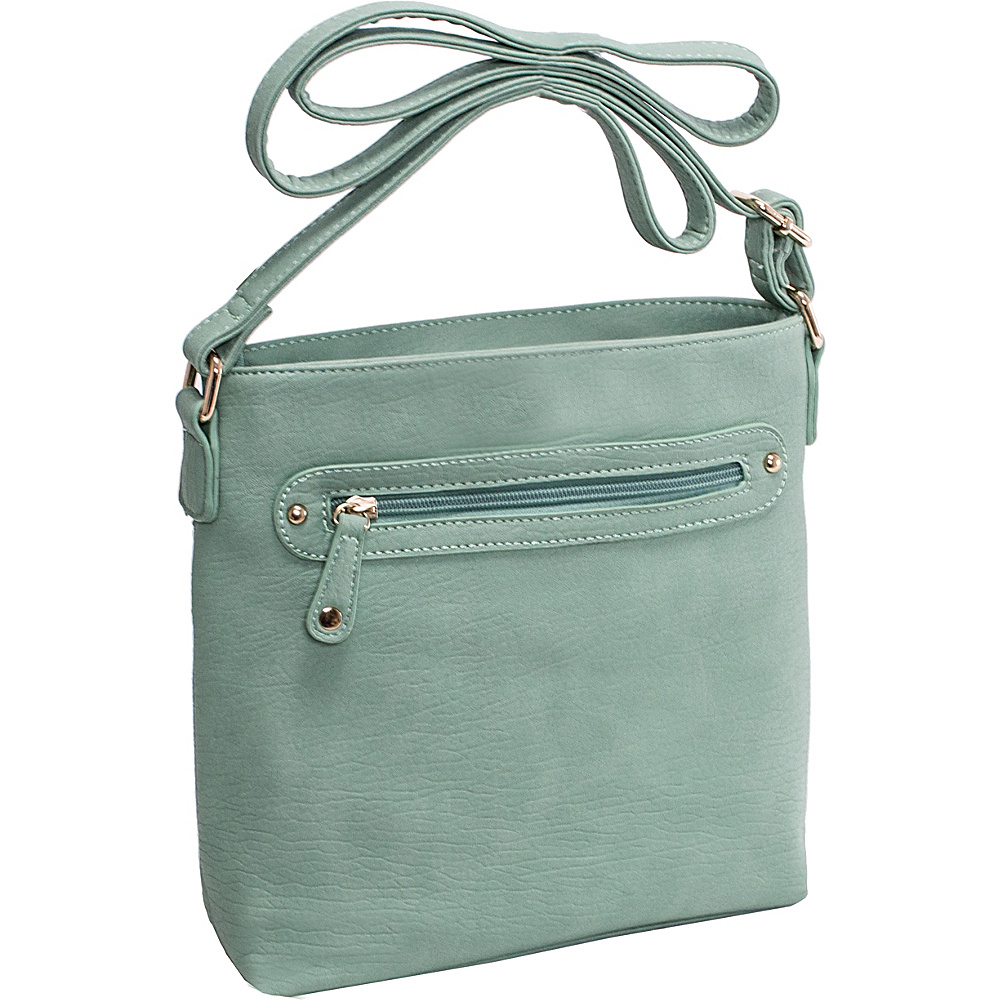 Parinda Clarice II Crossbody Turquoise - Parinda Leather Handbags