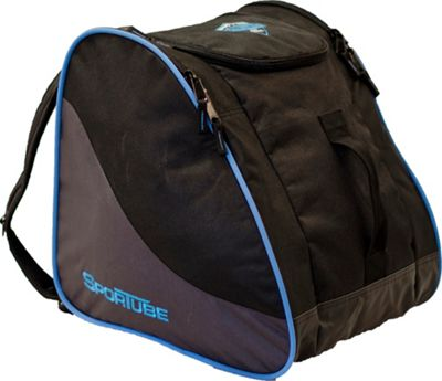 Sportube Traveler Boot and Gear Bag Black/Blue - Sportube Ski and Snowboard Bags