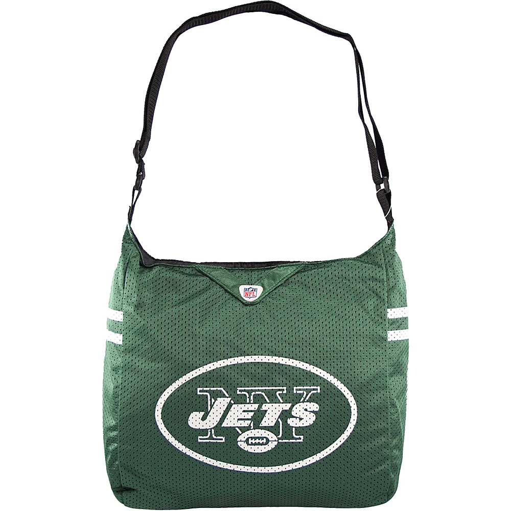 Littlearth Team Jersey Shoulder Bag - NFL Teams New York Jets - Littlearth Fabric Handbags - Handbags, Fabric Handbags