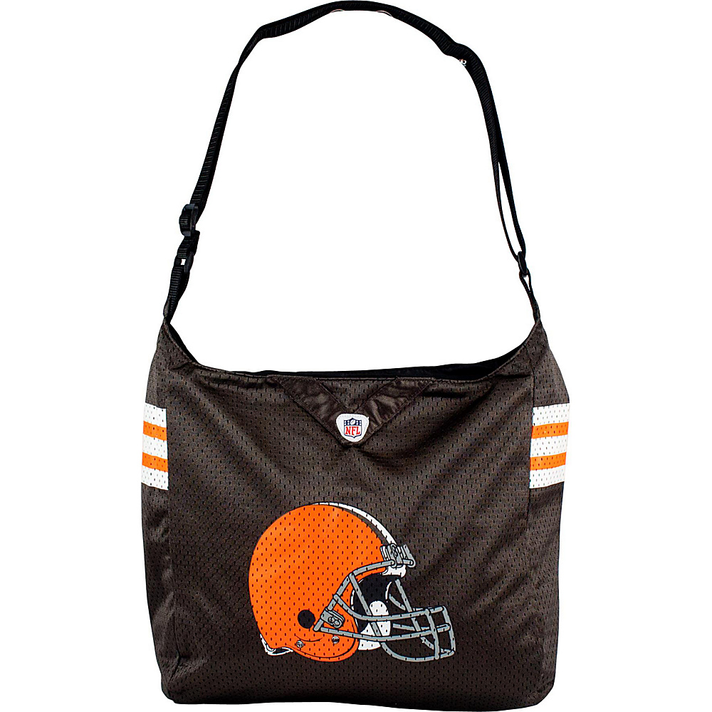 Littlearth Team Jersey Shoulder Bag - NFL Teams Cleveland Browns - Littlearth Fabric Handbags - Handbags, Fabric Handbags