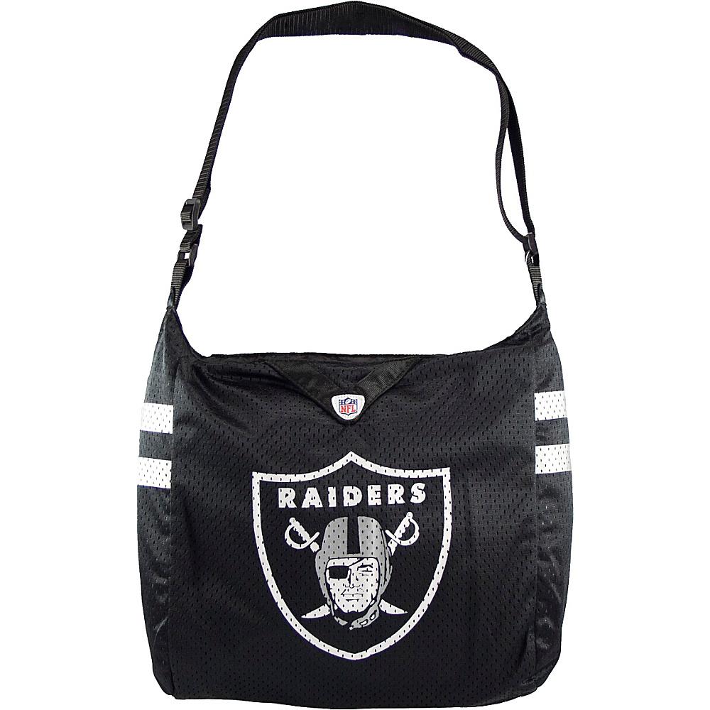 Littlearth Team Jersey Shoulder Bag - NFL Teams Oakland Raiders - Littlearth Fabric Handbags - Handbags, Fabric Handbags