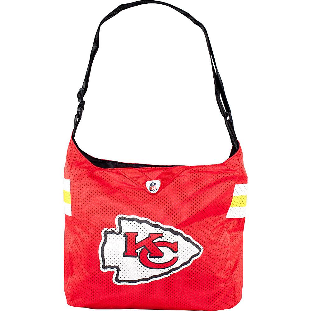 Littlearth Team Jersey Shoulder Bag - NFL Teams Kansas City Chiefs - Littlearth Fabric Handbags - Handbags, Fabric Handbags