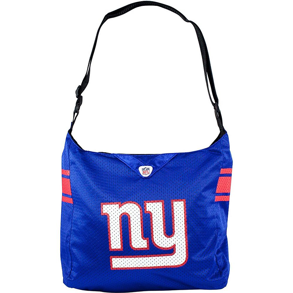 Littlearth Team Jersey Shoulder Bag - NFL Teams New York Giants - Littlearth Fabric Handbags - Handbags, Fabric Handbags