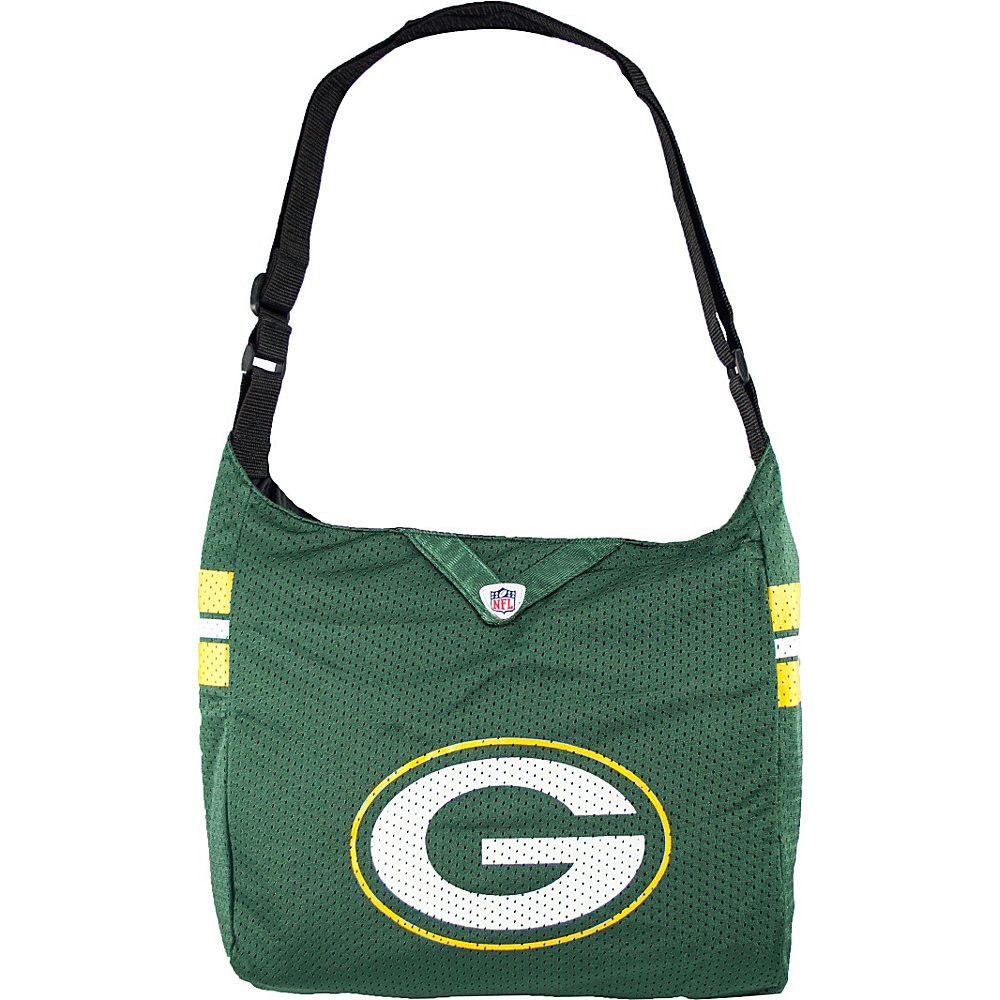 Littlearth Team Jersey Shoulder Bag - NFL Teams Green Bay Packers - Littlearth Fabric Handbags - Handbags, Fabric Handbags