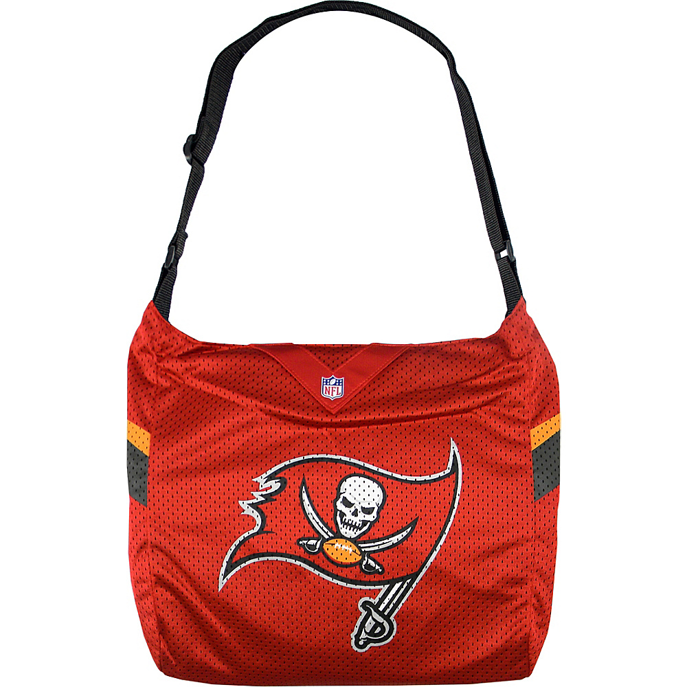 Littlearth Team Jersey Shoulder Bag - NFL Teams Tampa Bay Buccaneers - Littlearth Fabric Handbags - Handbags, Fabric Handbags