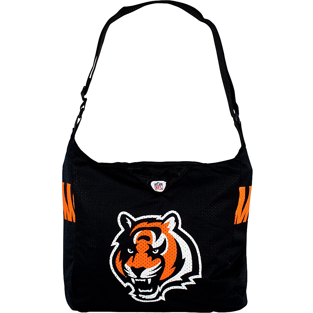Littlearth Team Jersey Shoulder Bag - NFL Teams Cincinnati Bengals - Littlearth Fabric Handbags - Handbags, Fabric Handbags