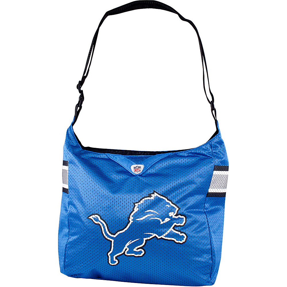 Littlearth Team Jersey Shoulder Bag - NFL Teams Detroit Lions - Littlearth Fabric Handbags - Handbags, Fabric Handbags