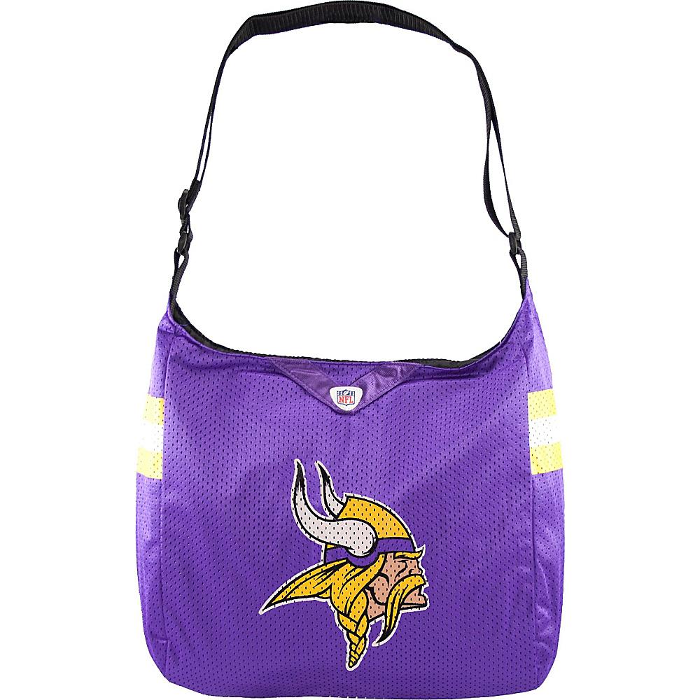 Littlearth Team Jersey Shoulder Bag - NFL Teams Minnesota Vikings - Littlearth Fabric Handbags - Handbags, Fabric Handbags
