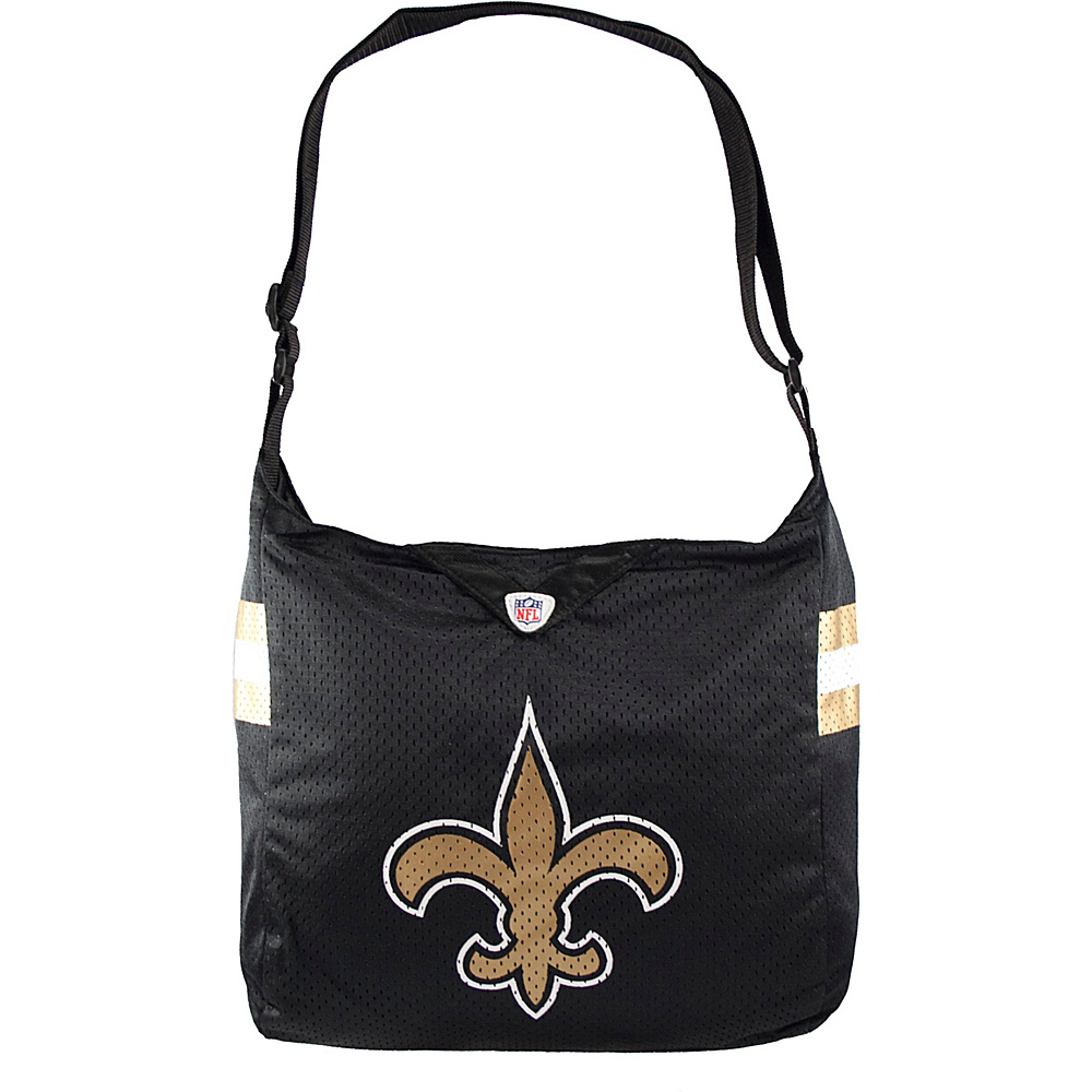Littlearth Team Jersey Shoulder Bag - NFL Teams New Orleans Saints - Littlearth Fabric Handbags - Handbags, Fabric Handbags