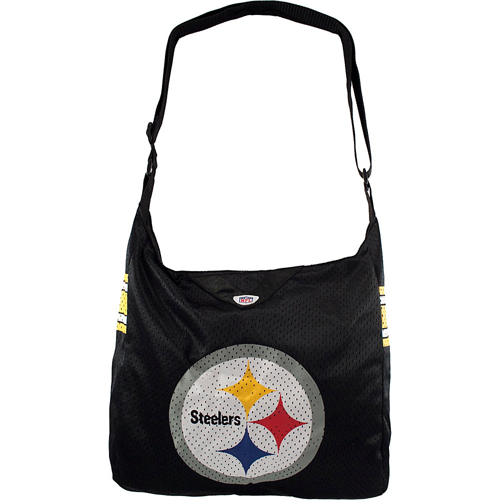 Littlearth Team Jersey Shoulder Bag - NFL Teams Pittsburgh Steelers - Littlearth Fabric Handbags - Handbags, Fabric Handbags