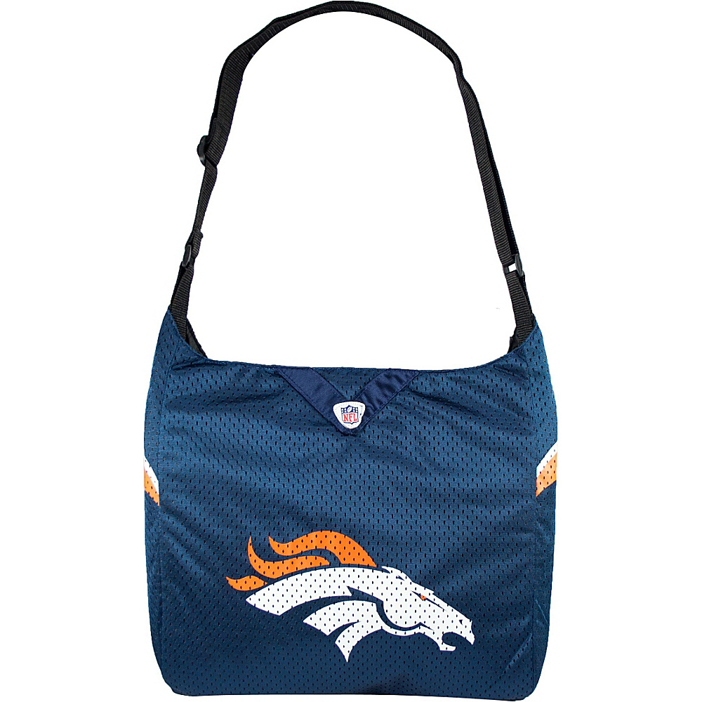 Littlearth Team Jersey Shoulder Bag - NFL Teams Denver Broncos - Littlearth Fabric Handbags - Handbags, Fabric Handbags