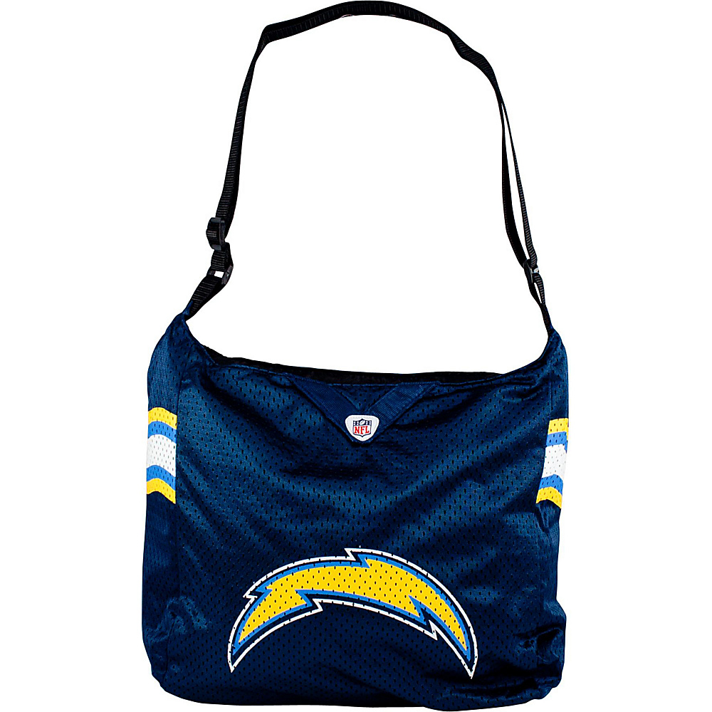 Littlearth Team Jersey Shoulder Bag - NFL Teams San Diego Chargers - Littlearth Fabric Handbags - Handbags, Fabric Handbags