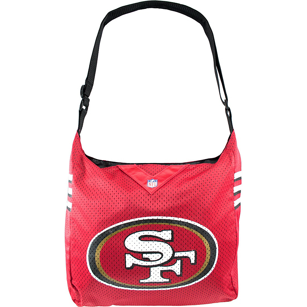 Littlearth Team Jersey Shoulder Bag - NFL Teams San Francisco 49ers - Littlearth Fabric Handbags - Handbags, Fabric Handbags