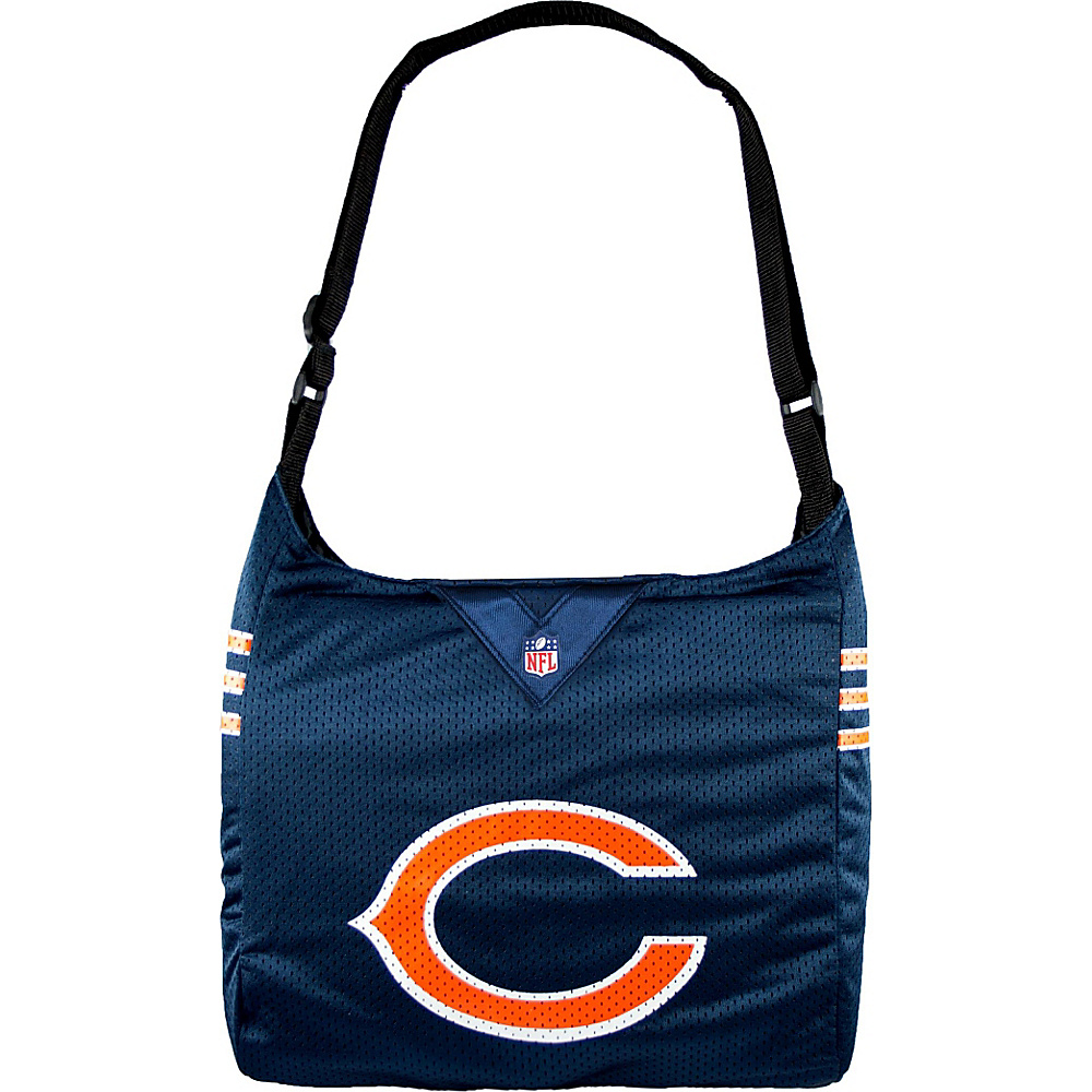 Littlearth Team Jersey Shoulder Bag - NFL Teams Chicago Bears - Littlearth Fabric Handbags - Handbags, Fabric Handbags