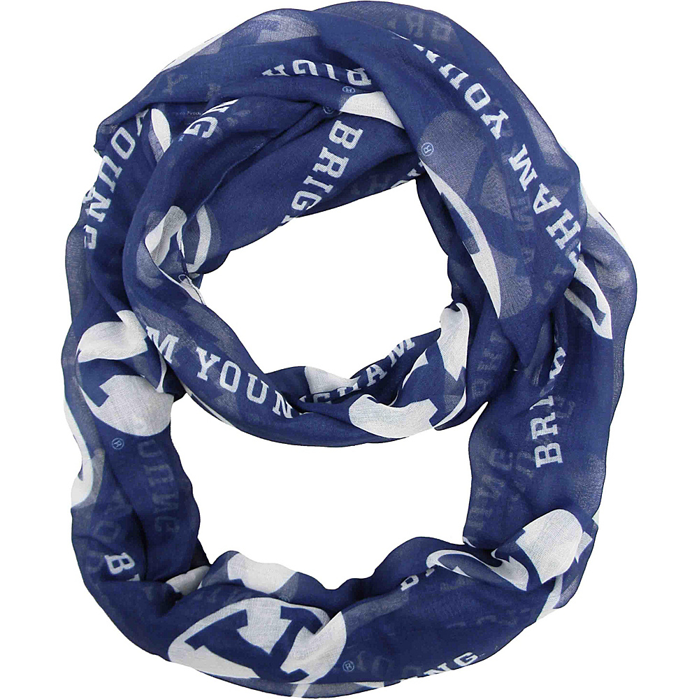 Littlearth Sheer Infinity Scarf - Independent Teams Brigham Young University - Littlearth Hats/Gloves/Scarves - Fashion Accessories, Hats/Gloves/Scarves