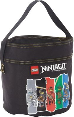 LEGO Ninjago Cinch Bucket Black - LEGO All-Purpose Totes