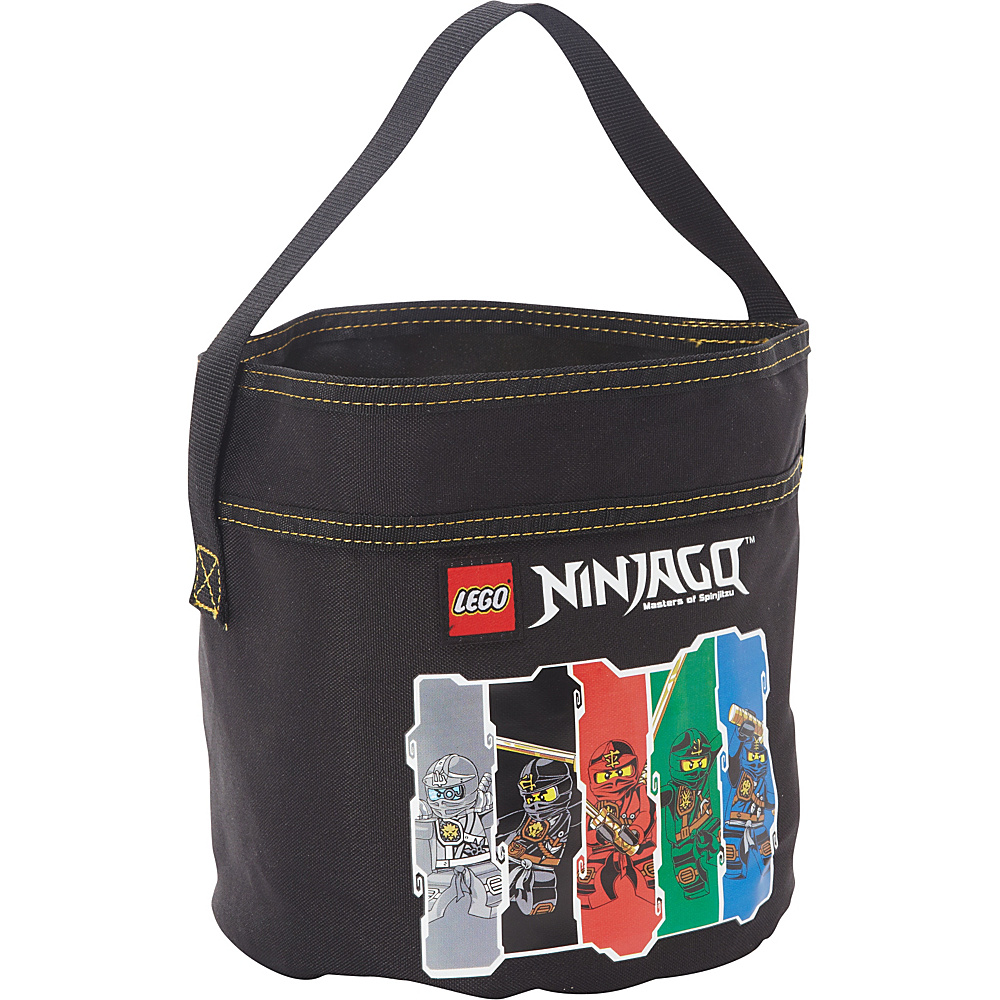 LEGO Ninjago Cinch Bucket Black LEGO All Purpose Totes