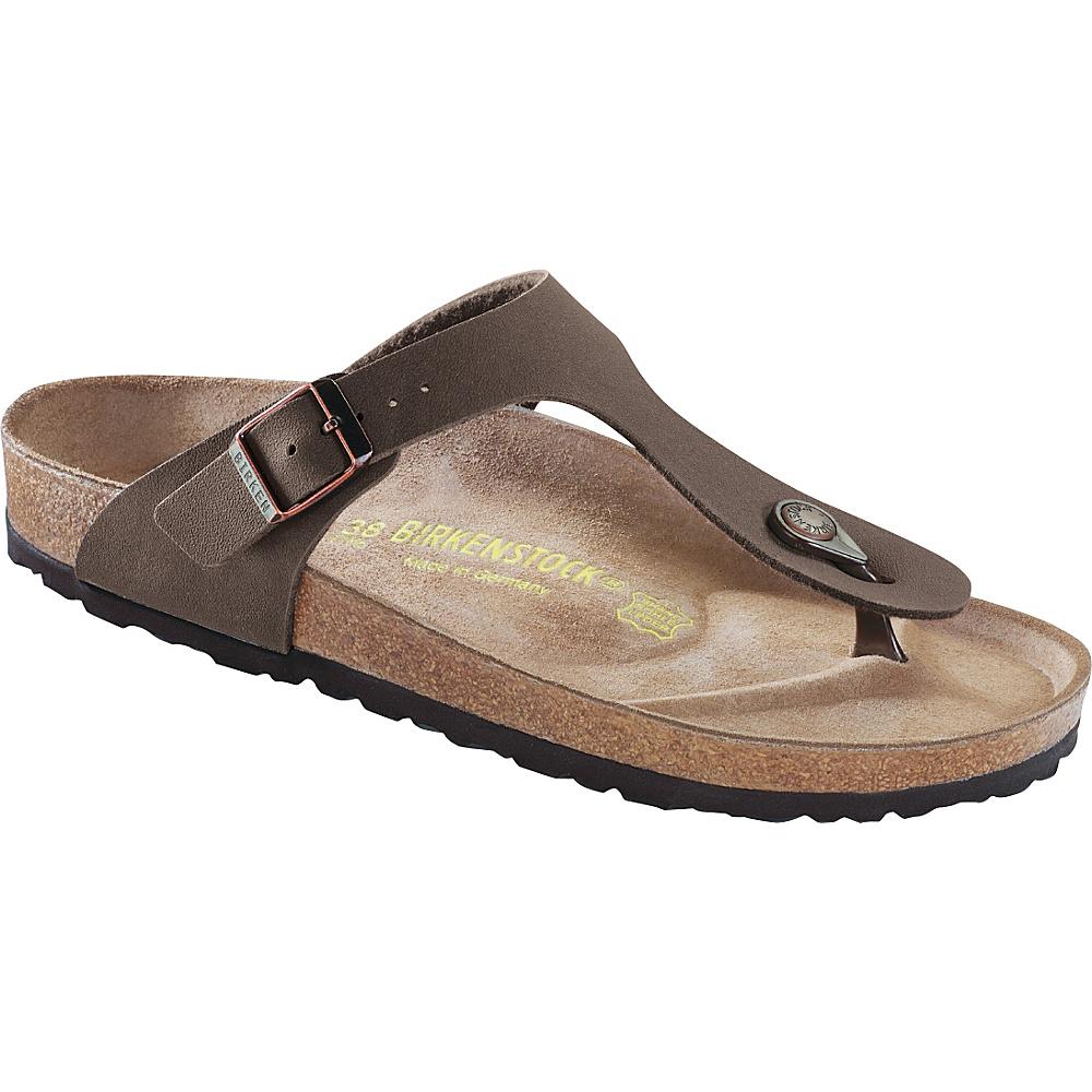 Birkenstock Gizeh 38 US Women s 7 7.5 M Regular Medium Mocha Birkenstock Women s Footwear
