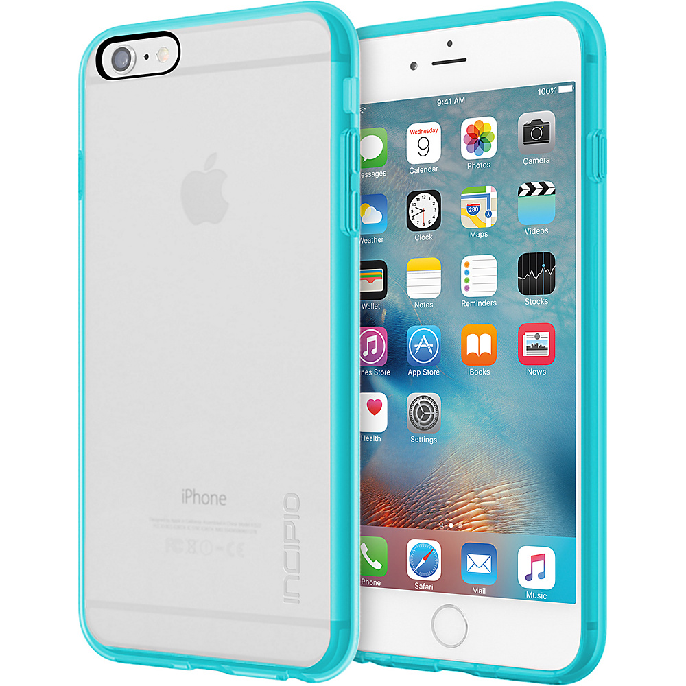 Incipio Octane Pure for iPhone 6/6s Plus Clear/Aqua - Incipio Electronic Cases - Technology, Electronic Cases