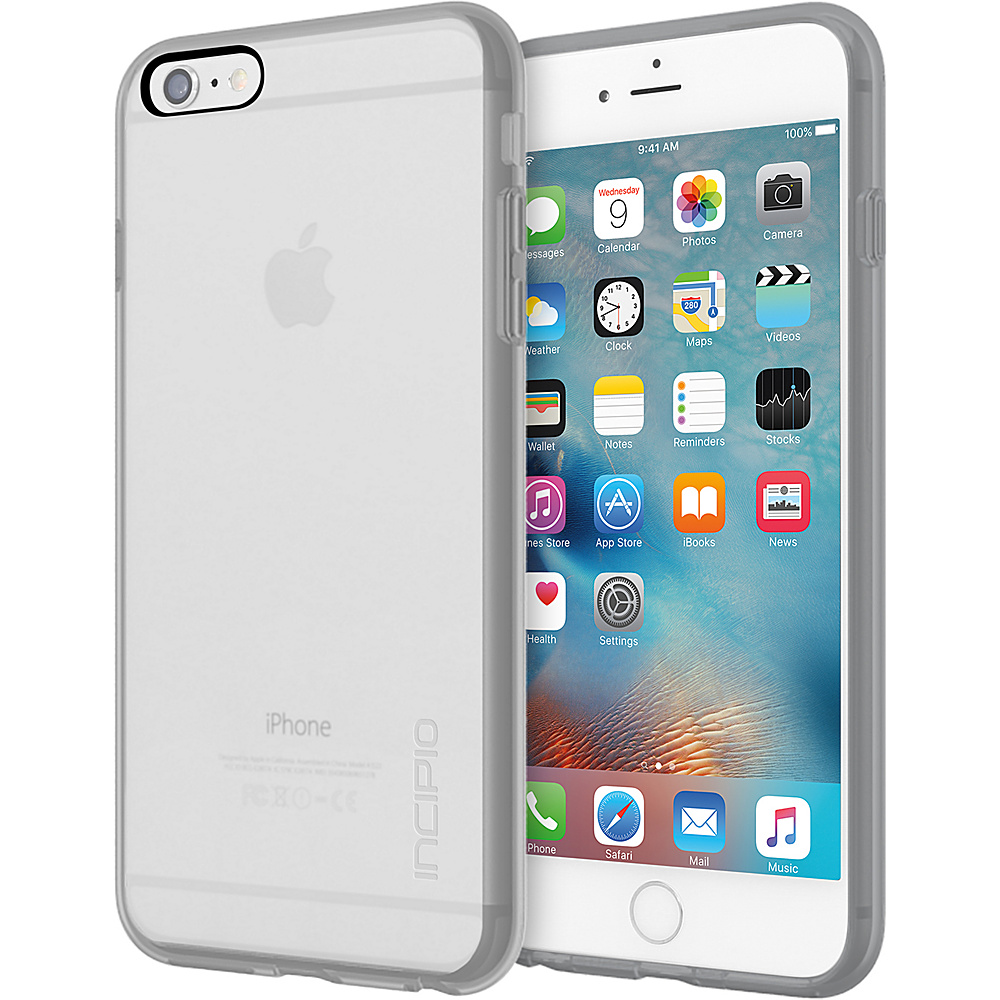 Incipio Octane Pure for iPhone 6/6s Plus Clear/Gray - Incipio Electronic Cases - Technology, Electronic Cases