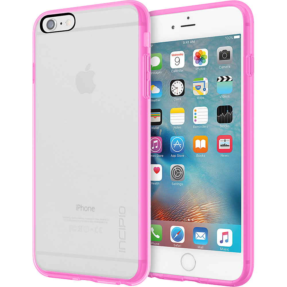 Incipio Octane Pure for iPhone 6/6s Plus Clear/Highlighter Pink - Incipio Electronic Cases - Technology, Electronic Cases