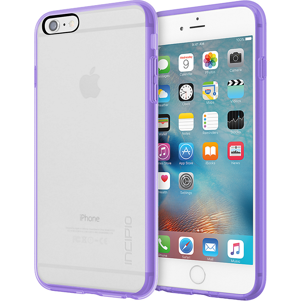 Incipio Octane Pure for iPhone 6/6s Plus Clear/Lavendar - Incipio Electronic Cases - Technology, Electronic Cases