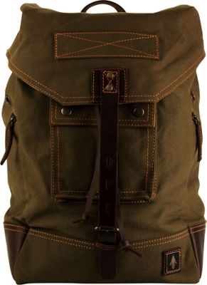 DamnDog Rucksack Backpack Swamp Green - DamnDog Everyday Backpacks