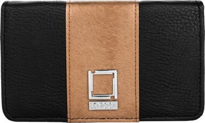Lencca Kyma Crossbody Shoulder Clutch Black/Copper - Lencca Manmade Handbags
