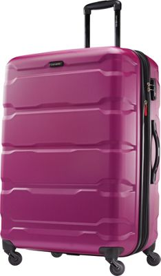 Checked - Extra Large Pink Luggage and Suitcases - eBags.com