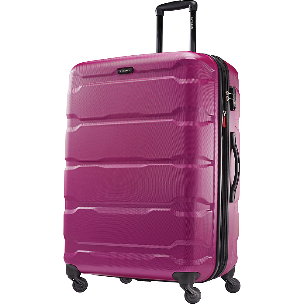 Samsonite Omni PC Hardside Spinner 28 Radiant Pink Samsonite Hardside Checked