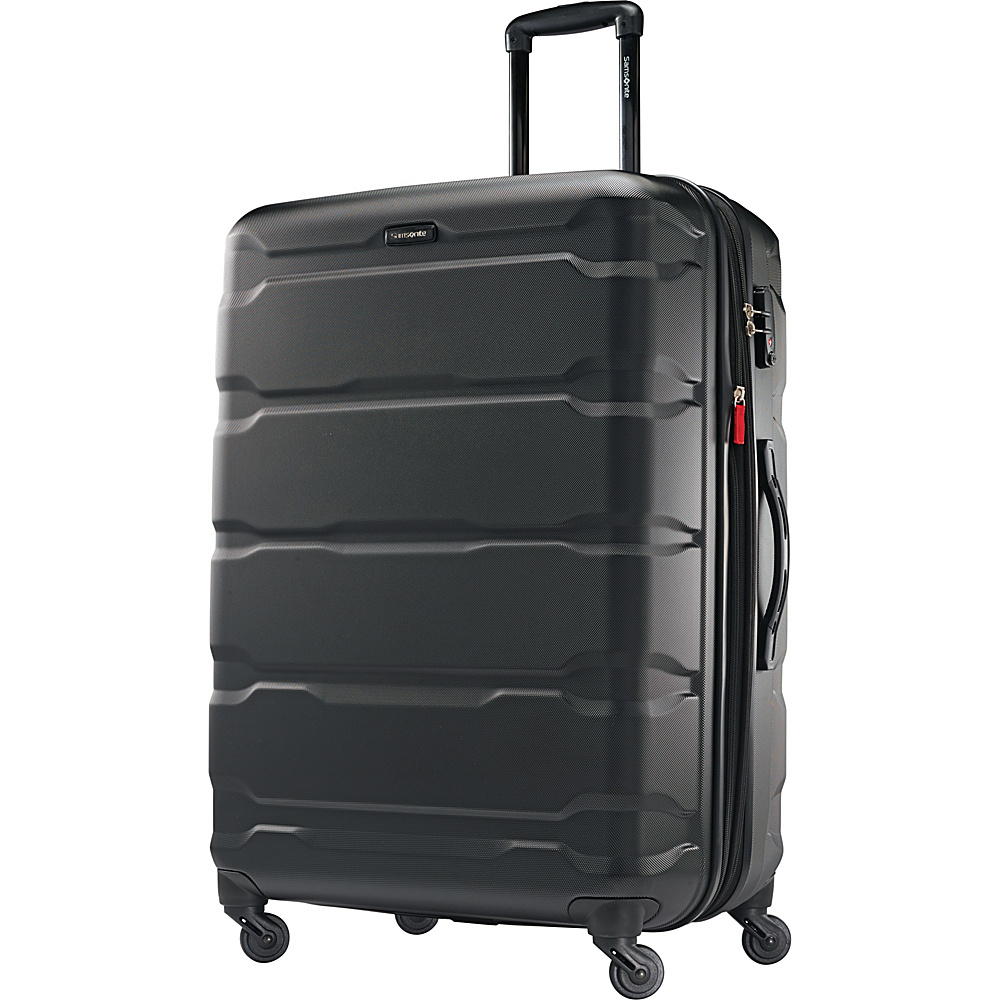 Samsonite Omni PC Hardside Spinner 28 Black Samsonite Hardside Checked