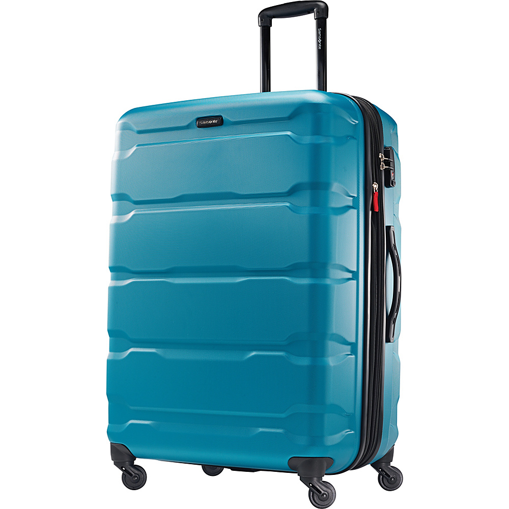 Samsonite Omni PC Hardside Spinner 28 Caribbean Blue Samsonite Hardside Checked