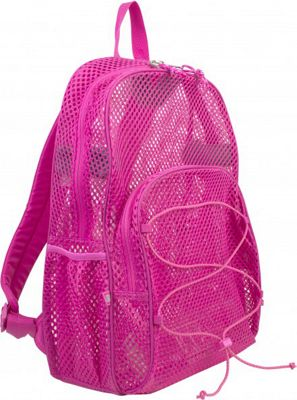 Eastsport Mesh Bungee Backpack English Rose - Eastsport Everyday Backpacks
