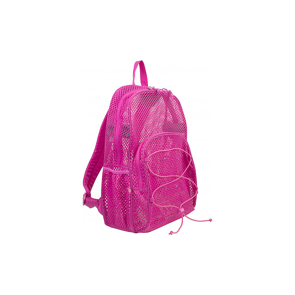 Eastsport Mesh Bungee Backpack English Rose Eastsport Everyday Backpacks