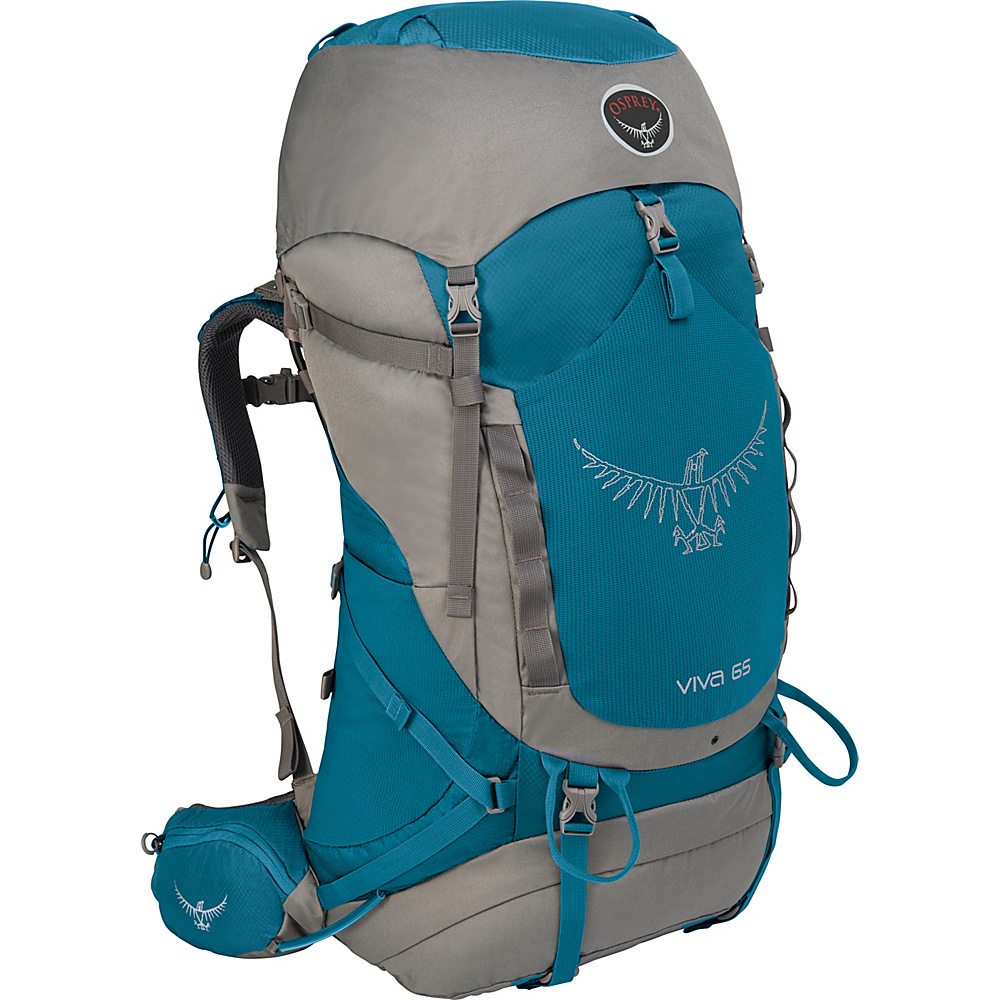 Osprey Viva 65 Hiking Backpack Cool Blue - Osprey Backpacking Packs - Outdoor, Backpacking Packs