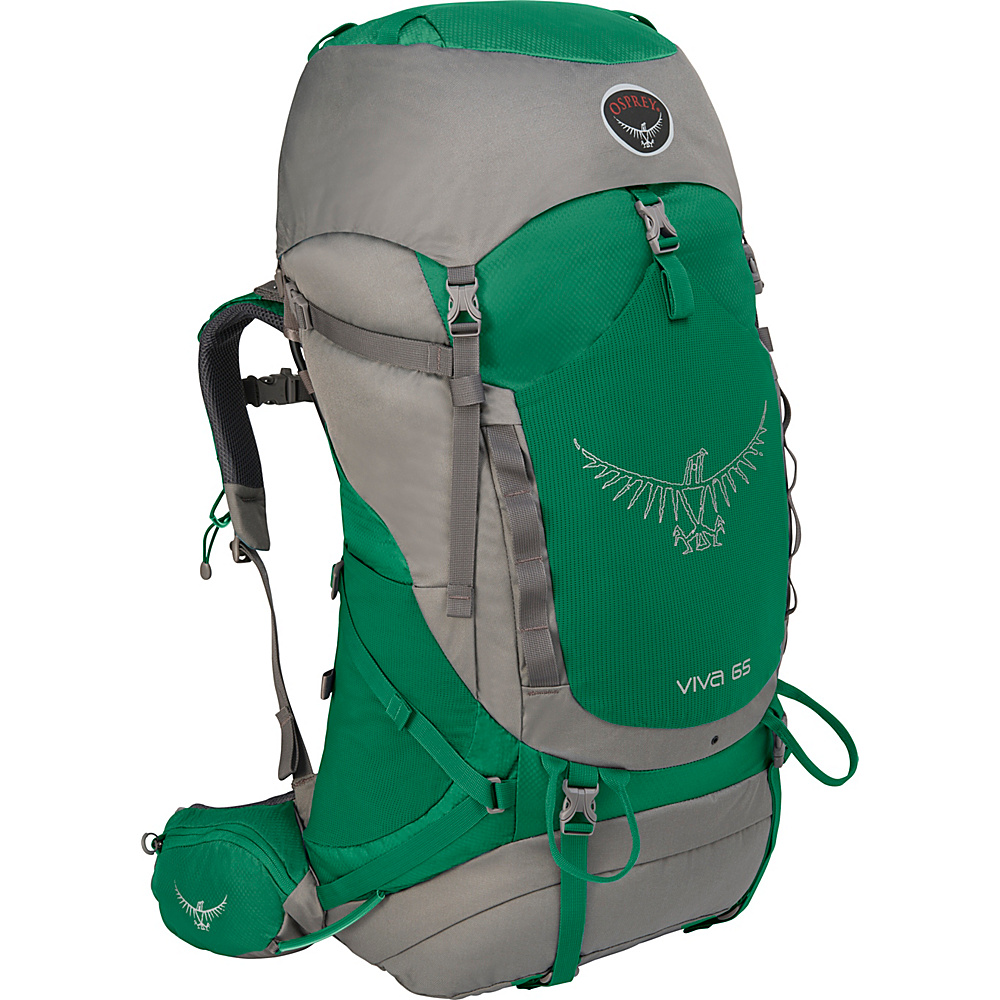 Osprey Viva 65 Hiking Backpack Sea Green - Osprey Backpacking Packs - Outdoor, Backpacking Packs