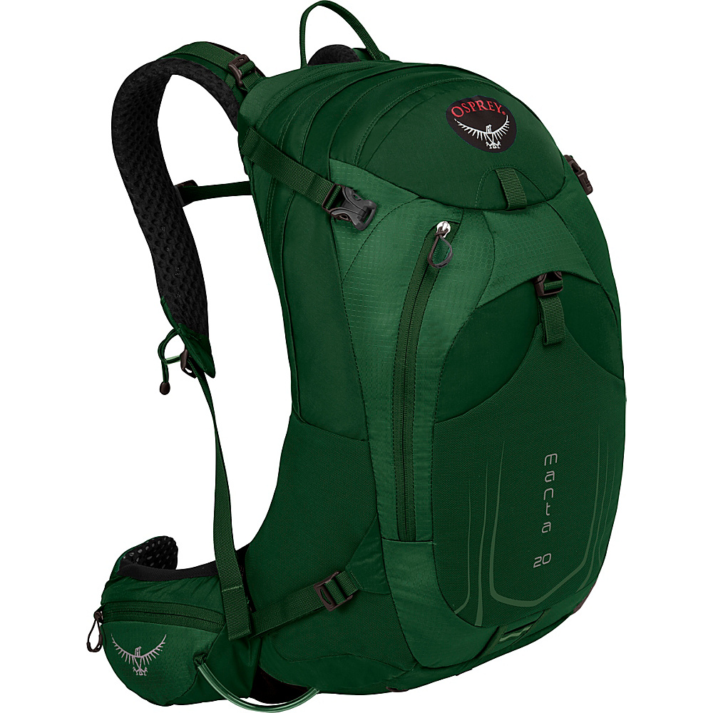 Osprey Manta AG 20 Hiking Pack Spruce Green - Osprey Day Hiking Backpacks - Outdoor, Day Hiking Backpacks