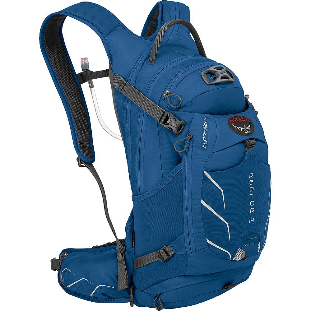 Osprey Raptor 14 Biking Backpack Persian Blue - Osprey Day Hiking Backpacks - Outdoor, Day Hiking Backpacks
