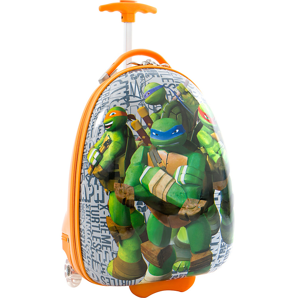 Heys America TMNT Kids 18 Luggage GREENS Heys America Kids Luggage