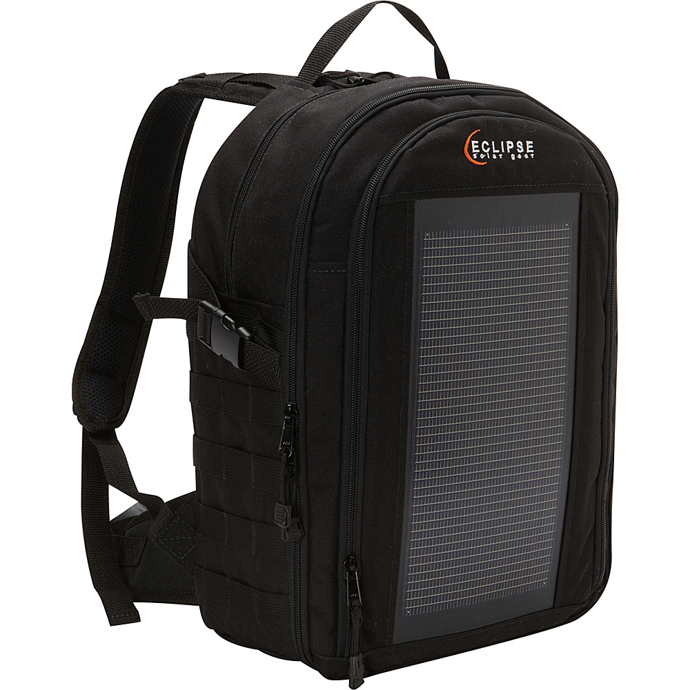 Eclipse Solar Gear Photo Pro Solar Backpack Black - Eclipse Solar Gear Camera Cases