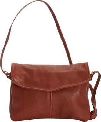Victoria Leather M&M Crossbody Cognac - Victoria Leather Leather Handbags