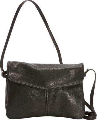 Victoria Leather M&M Crossbody Black - Victoria Leather Leather Handbags