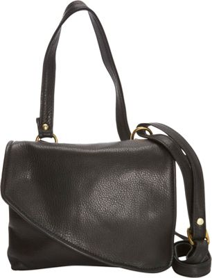 Victoria Leather Tulip Mini Crossbody Black - Victoria Leather Leather Handbags