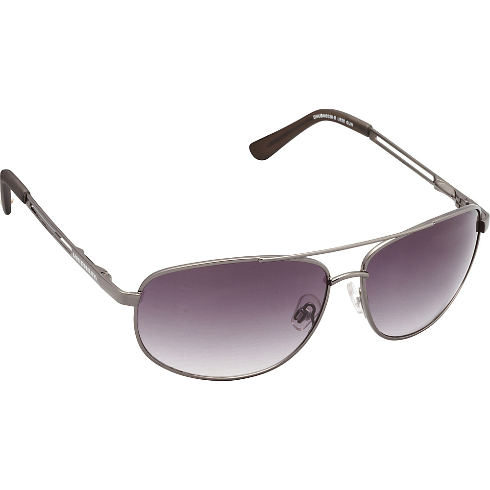Unionbay Eyewear Metal Aviator Sunglasses Gun Unionbay Eyewear Sunglasses