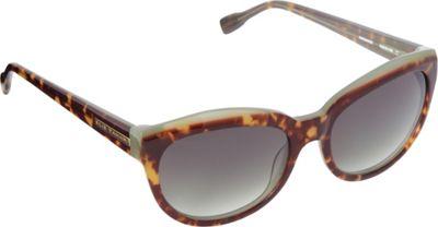 Elie Tahari Sunglasses Cat Eye Sunglasses Tortoise/Green - Elie Tahari Sunglasses Sunglasses