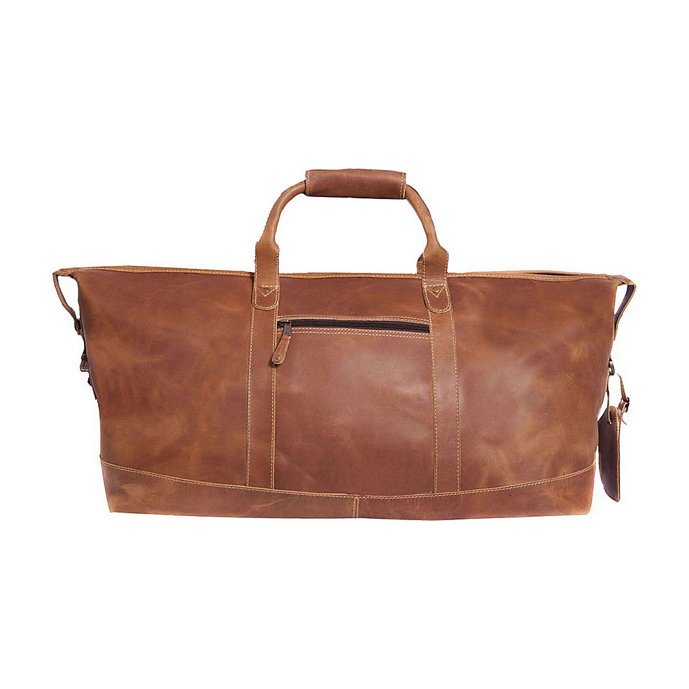 Canyon Outback Leather Little River 22 Leather Duffel Bag Distressed Tan Canyon Outback Travel Duffels