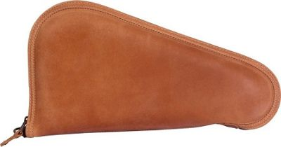 Canyon Outback Leather Deadwood Leather Pistol Case Distressed Tan - Canyon Outback Other Sports Bags